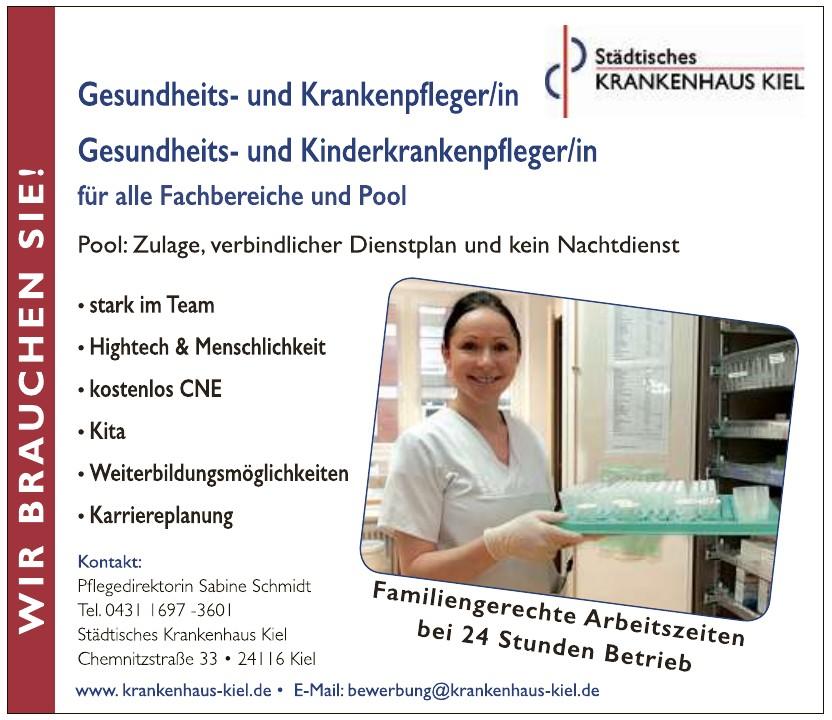 Städtisches Krankenhaus Kiel-Pflegedirektorin Sabine Schmidt