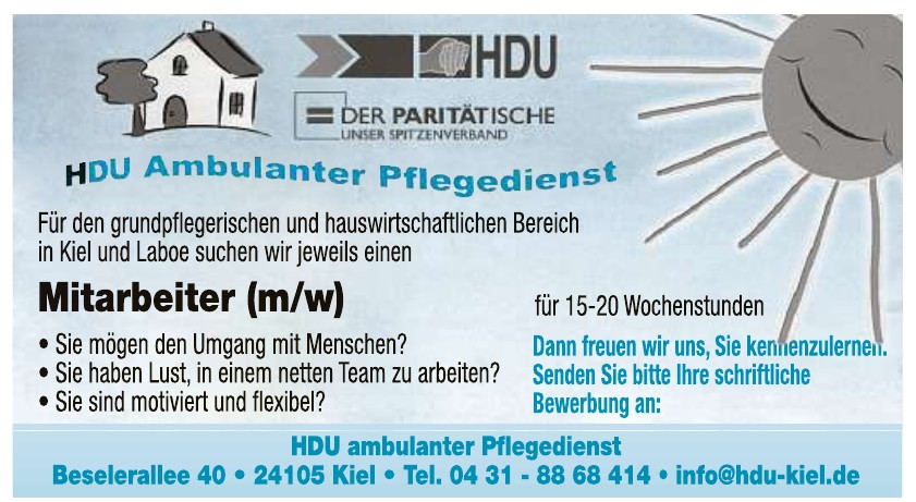 HDU Ambulanter Pflegedienst e.V.