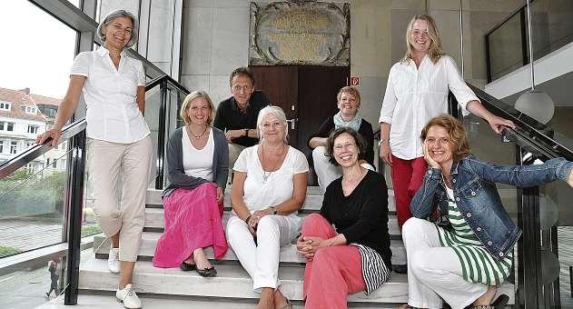 Das Team der Schule für Logopädie in Kiel. FOTO: HFR