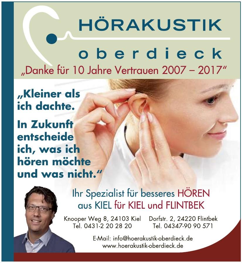 Hörakustik Oberdieck