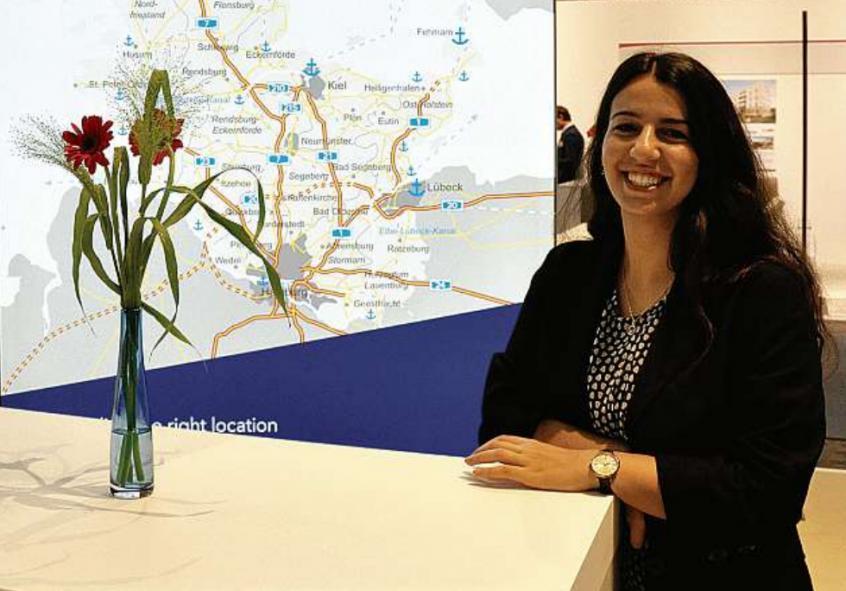 Jana Avagyan ist Auszubildende zur Veranstaltungskauffrau.    FOTO: WTSH