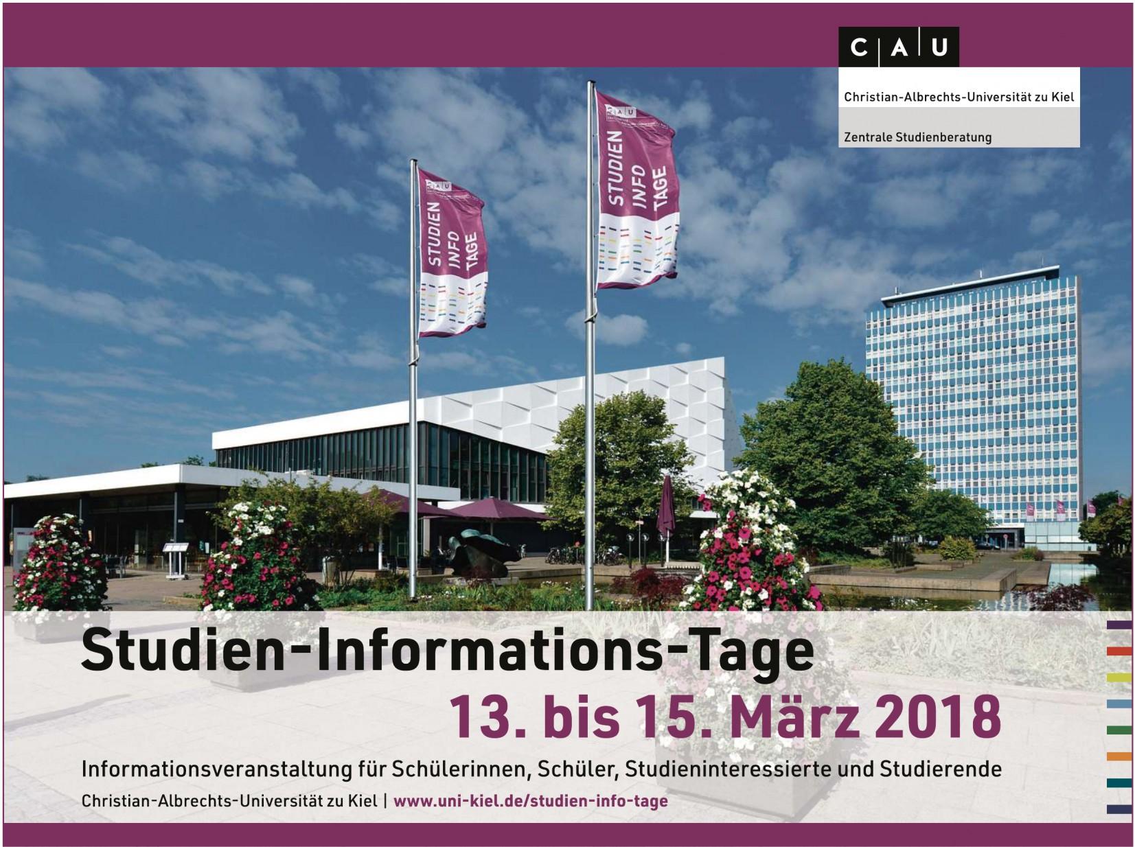 CAU - Studien-Info-Tage