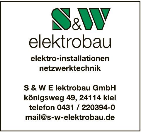 S & W E elektrobau GmbH