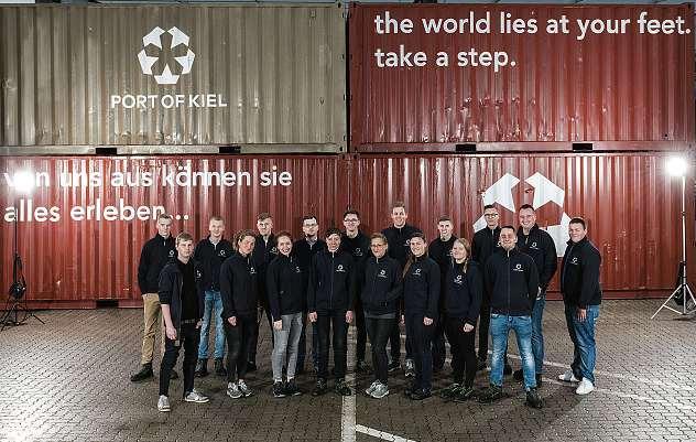 Der Seehafen Kiel bietet vielseitige Berufsmöglichkeiten. FOTO: PETER LÜHR